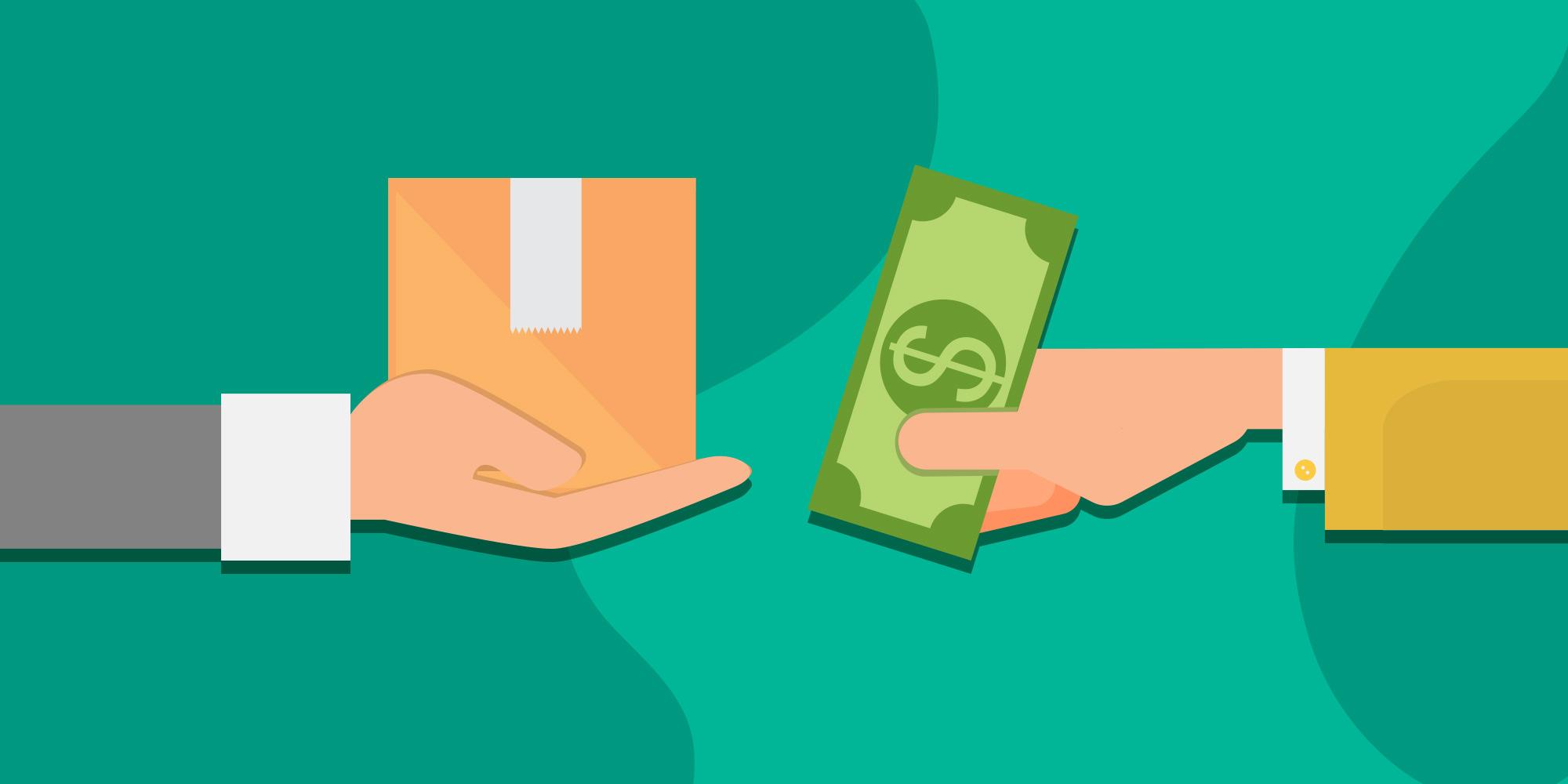 امکان پرداخت در محل در لندینگ پیج فروشگاه آنلاین