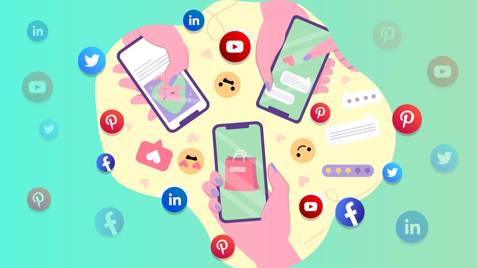 انتخاب شبکه اجتماعی مناسب